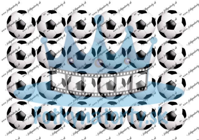 Futbalové lopty 24 ks - Ø cca 4,5 cm