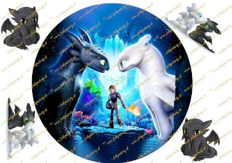 NOVINKA! How to Train your dragon / Ako vycvičiť draka  - kruh