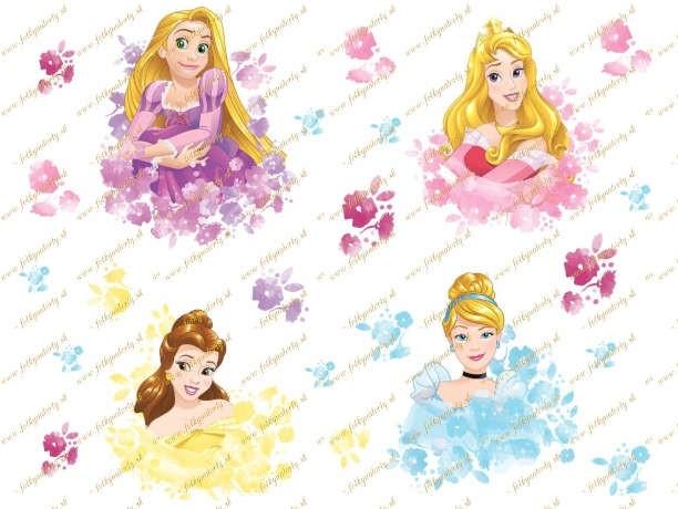 Jedlé vystrihovačky nielen na torty - princezné