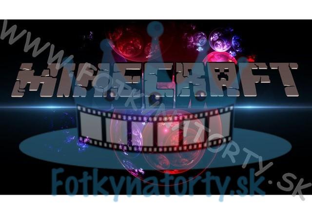 Minecraft VI. -  - jedlý obrázok na tortu / jedlé obrázky / Fotky na torty / jedlá tlač