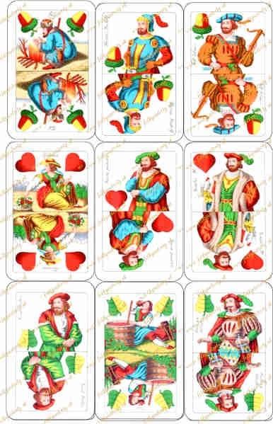 Jedlý obrázok - Sedmové karty na vystrihovanie