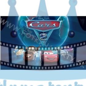 Cars - jedlý obrázok / oblátka na tortu
