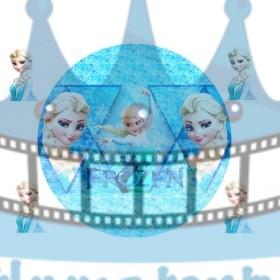 FROZEN - Ľadové kráľovstvo (Frozen) Elsa - jedlý obrázok / oblátka na tortu