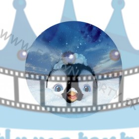 Happy Feet - jedlý obrázok/ oblátka na tortu