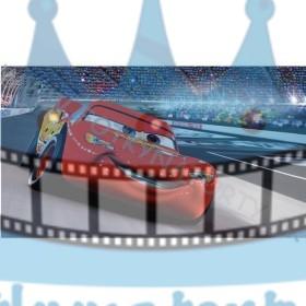 Autíčko McQueen - jedlý obrázok / oblátka na tortu