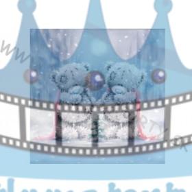 Vianočná oblátka na tortu VIII. - jedlý obrázok