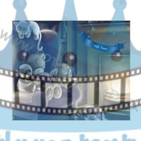 Obrázok na tortu pre bábätko - jedlý obrázok/ oblátka na tortu