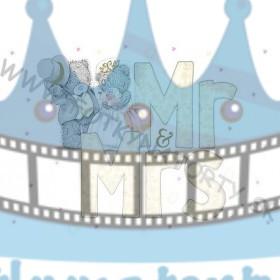 Svadobná oblátka - Medvedíci Mr&Mrs