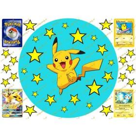 Pokémon okrúhly jedlý obrázok