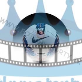 Premiere League Nike okrúhly - jedlý obrázok/ oblátka na tortu