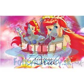 Princezná ariel  - jedlý obrázok/ oblátka na tortu