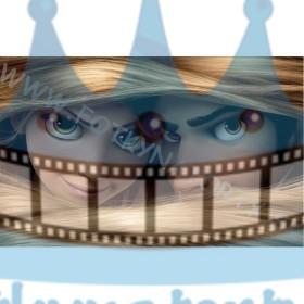 Rapunzel a Flynn - jedlý obrázok/ oblátka na tortu