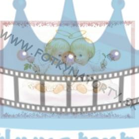 Anjeliky II. - jedlý obrázok / oblátka na tortu
