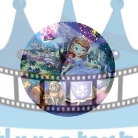 Princezná Sofia jedlá oblátka / obrázok na tortu