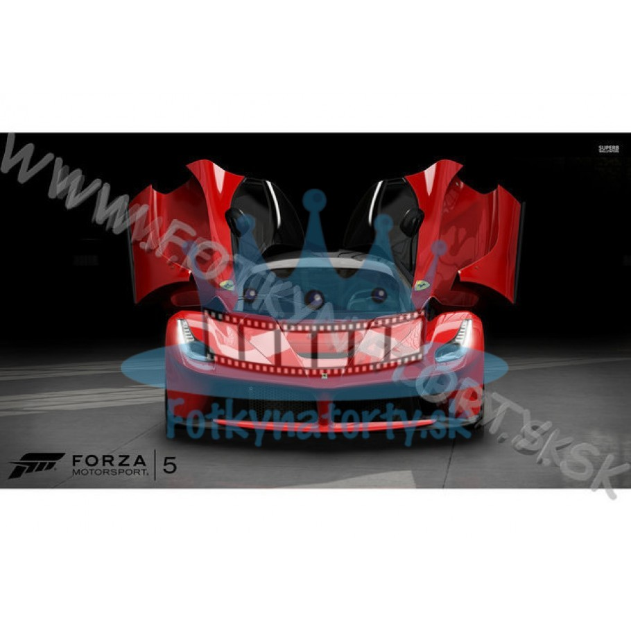 LaFerrari - Forza Motorsport 5 - jedlý obrázok / oblátka na tortu / Fotky na torty