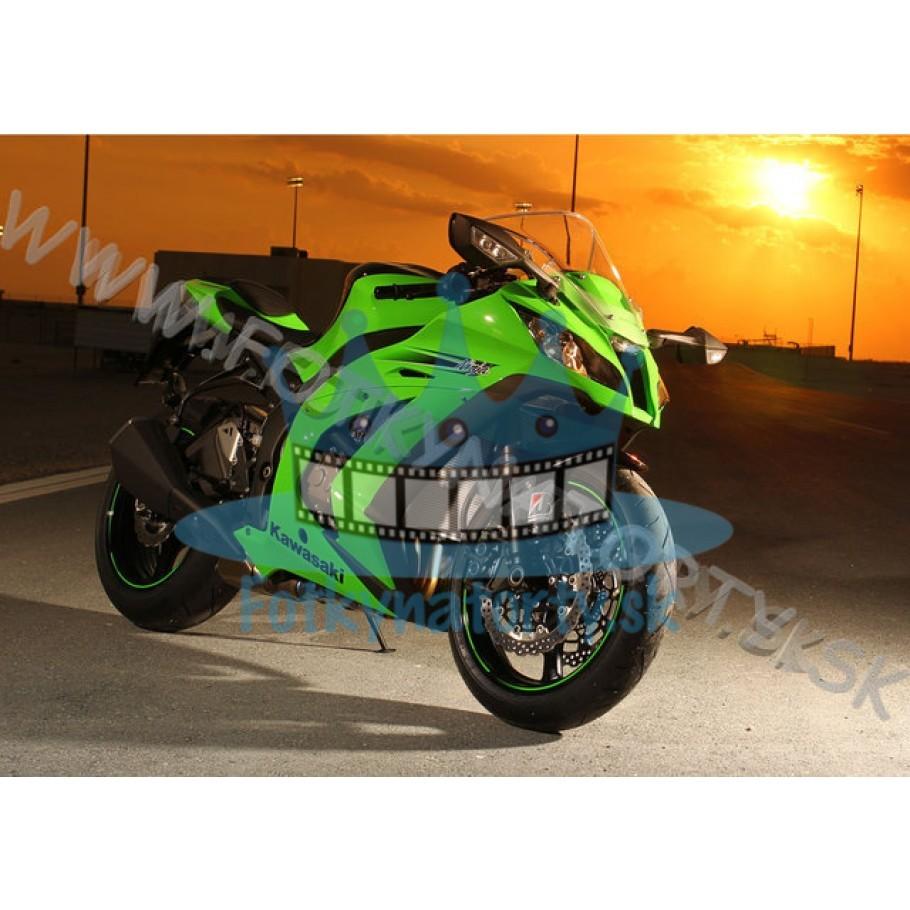 Kawasaki Ninja - jedlý obrázok / oblátka na tortu