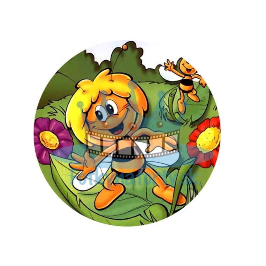 Včielka Maja - jedlý obrázok/ oblátka na tortu