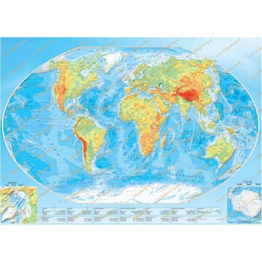 Okrúhly jedlý obrázok na tortu Mapa sveta