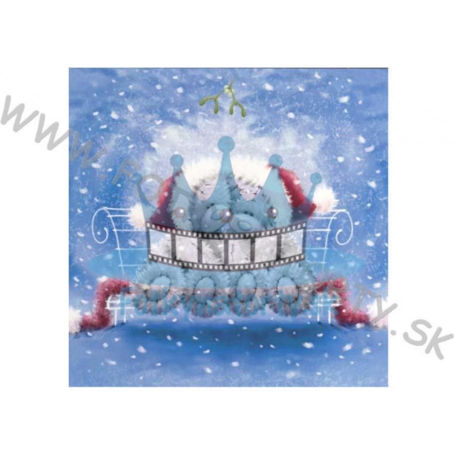Vianočná oblátka na tortu VII. - jedlý obrázok