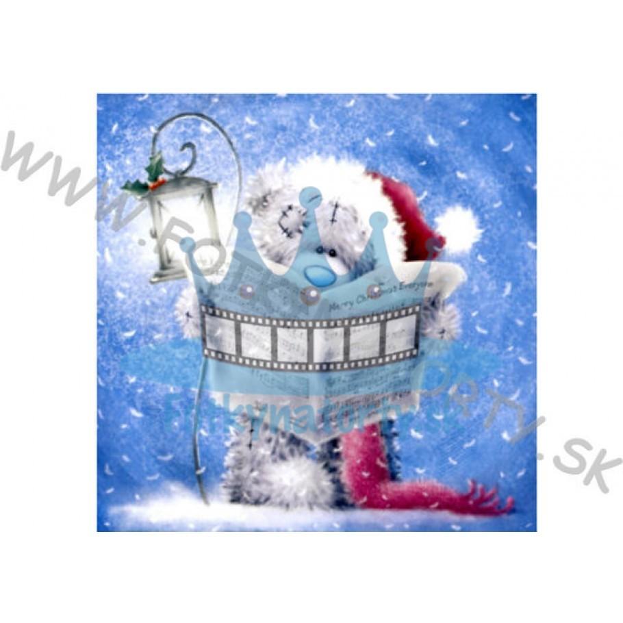 Vianočná oblátka na tortu VI. - jedlý obrázok