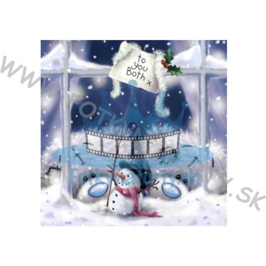 Vianočná oblátka na tortu III. - jedlý obrázok