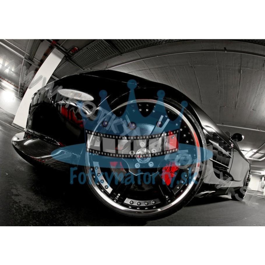 Mercedes-Benz SLR McLaren - jedlý obrázok/ oblátka na tortu