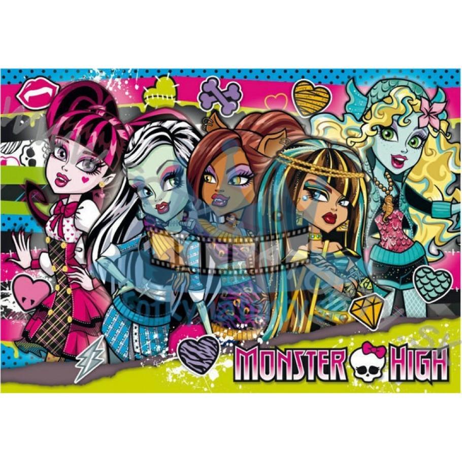 Monster High I. - jedlý obrázok/ oblátka na tortu