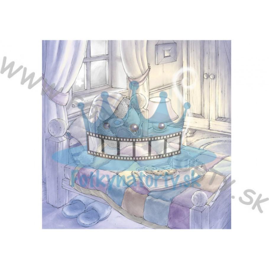 Obľúbený medvedík - jedlý obrázok/ oblátka na tortu
