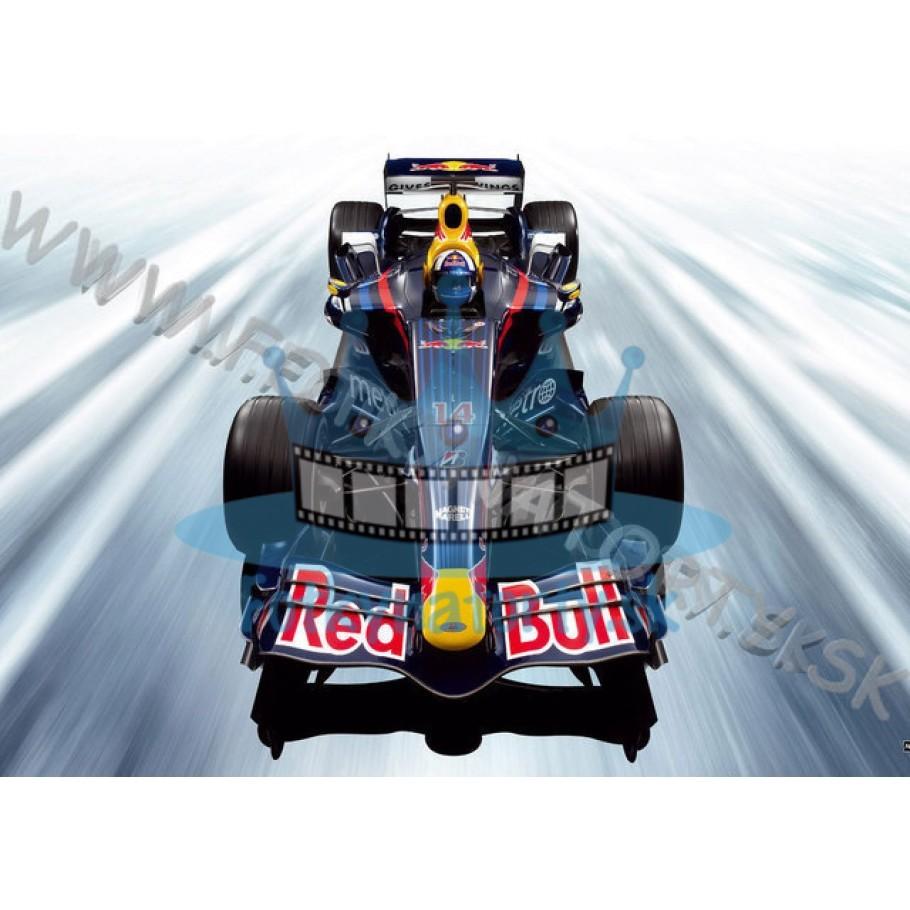 Red Bull F1 Formula - jedlý obrázok/ oblátka na tortu