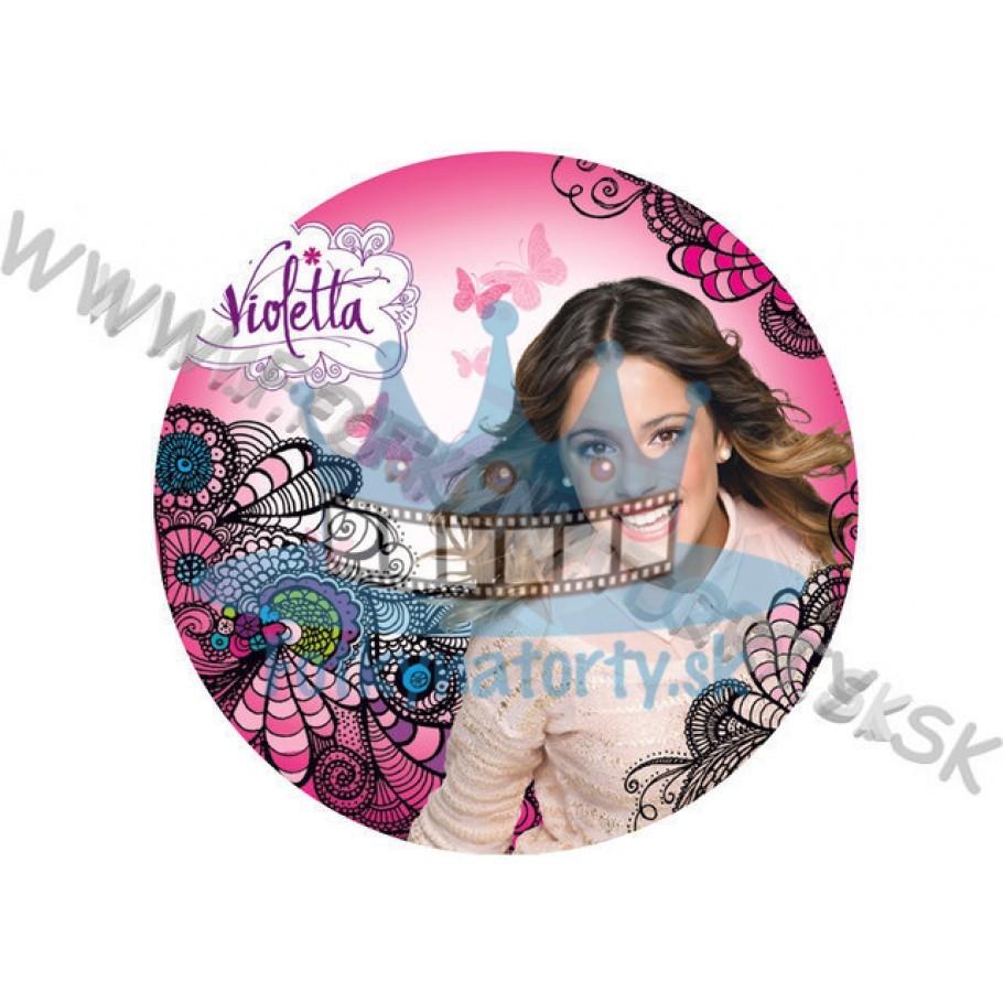 Violetta - KRUH - jedlý obrázok/ oblátka na tortu